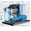 Compresoare cu surub, transmisie directa, inverter, Seria 4, S 111-4 / S 160-4 LDF 110-160 kW