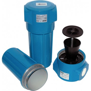 Separator ciclon de condens Drytec G25÷2200WS l 0,25 ÷ 36,80 m3/min